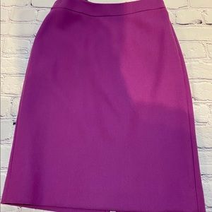 Jcrew 100% wool pencil skirt